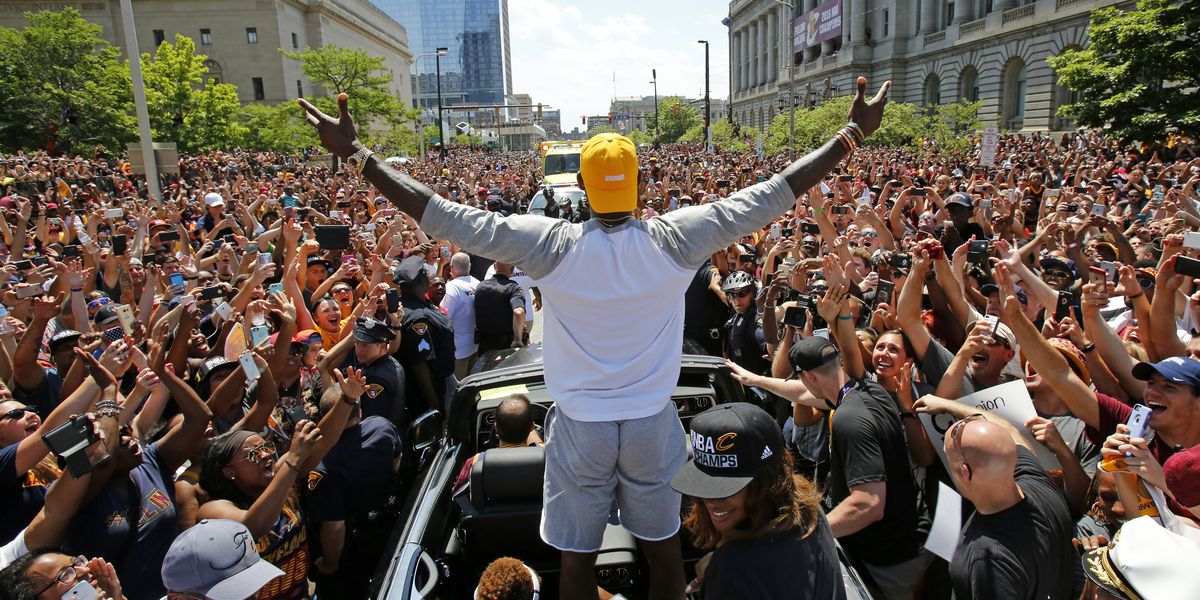 LeBron James: Cavs' title 'made me the greatest player of all time'