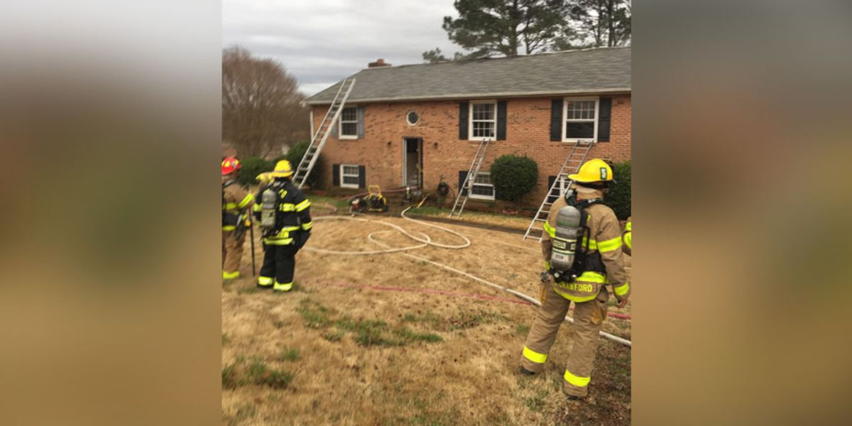 Cooking fire displaces 4 adults, 1 child in Henrico