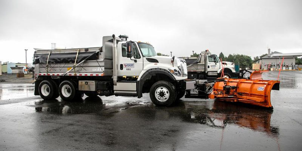 VDOT is pre-treating roads ahead of potential snow this weekend
