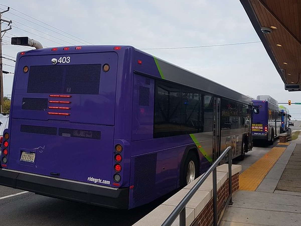 Another GRTC bus driver tests positive for COVID-19, is 8th case for company