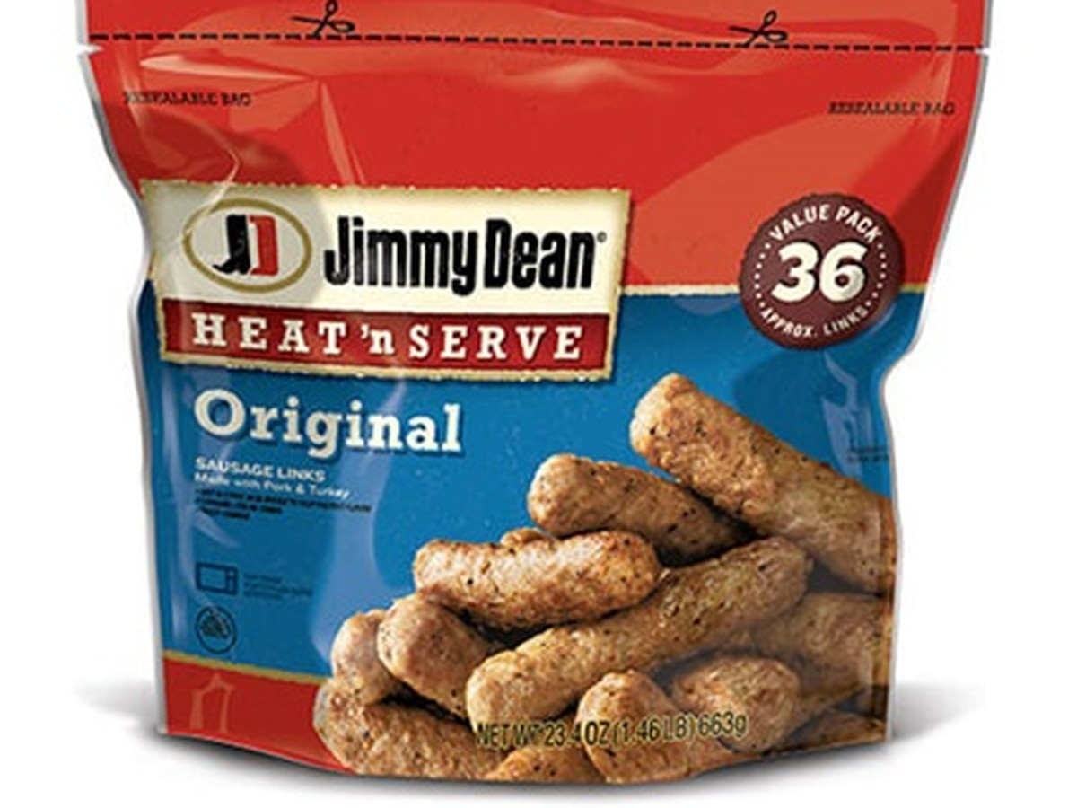 Jimmy Dean sausage links recalled, 'pieces of metal' contamination