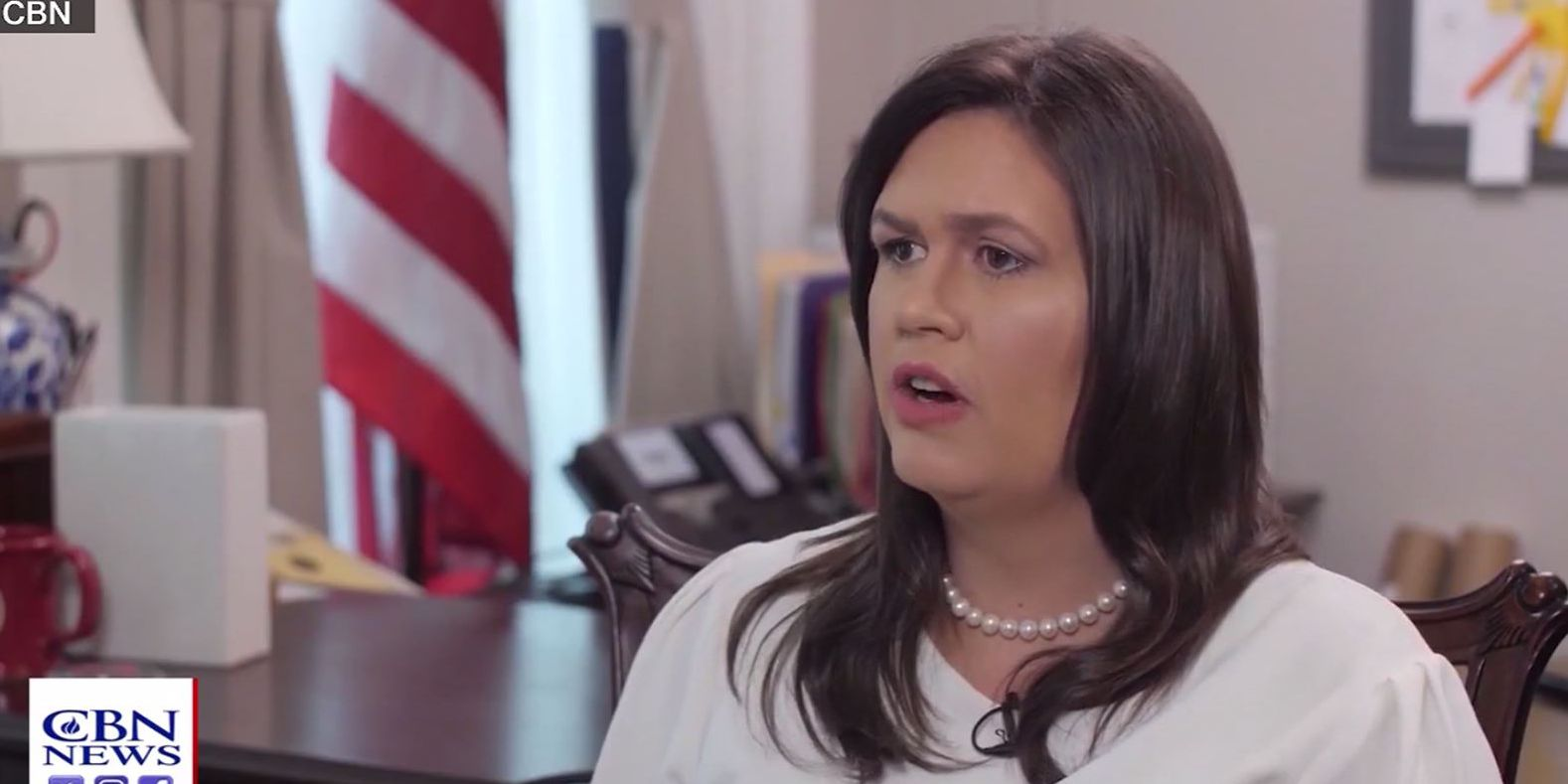 Sarah Sanders: God wanted Trump to be president