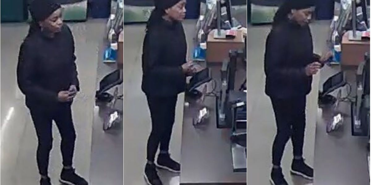Chesterfield police searching for credit card fraud suspect