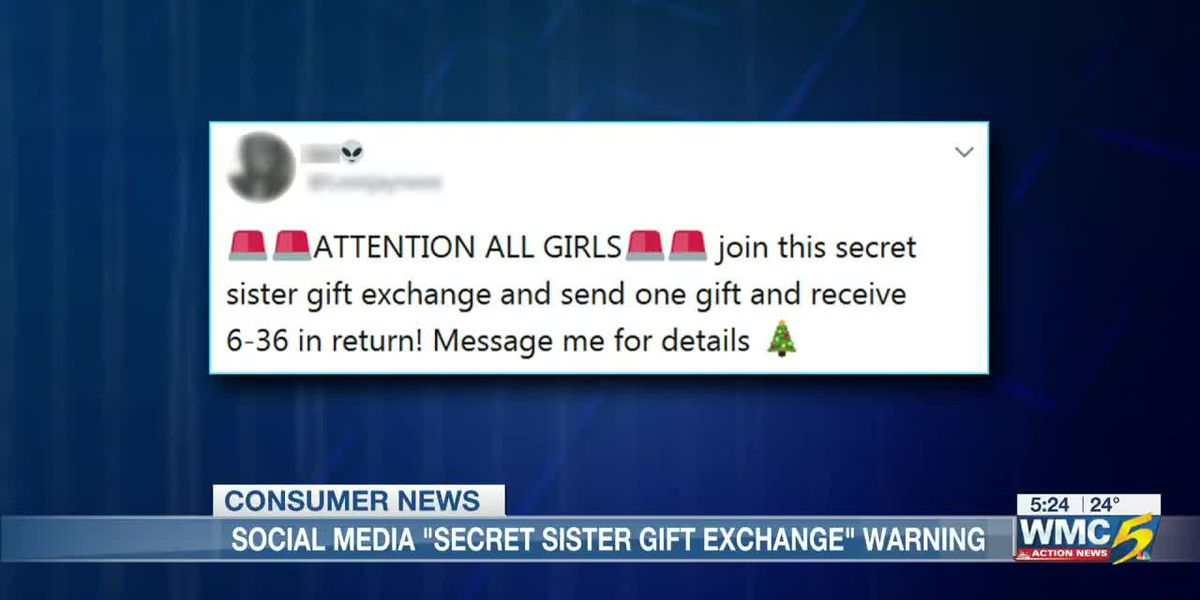 BBB warning: Beware of the 'Secret Sister Gift Exchange' on social media