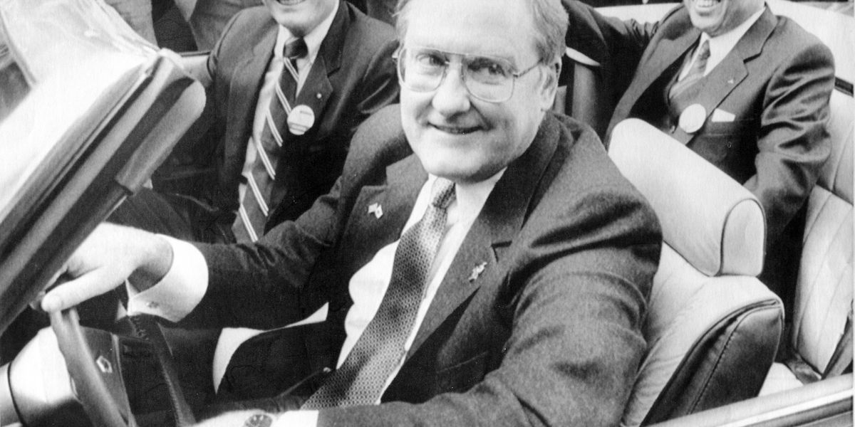 Former Illinois Gov. James Thompson, 'Big Jim,' dies at 84