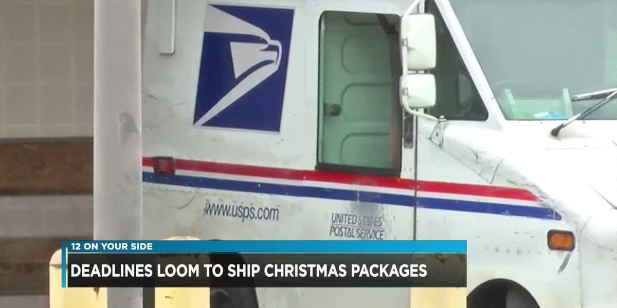 Haven't mailed your Christmas gifts yet? Tick-tock...