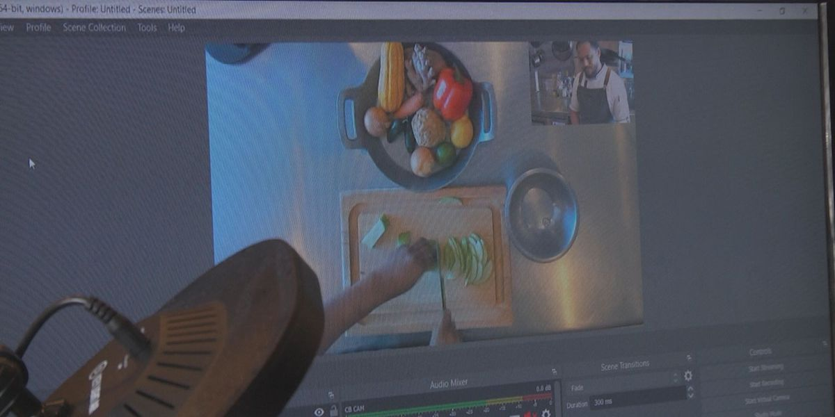 Charlottesville chef teaching online cooking classes