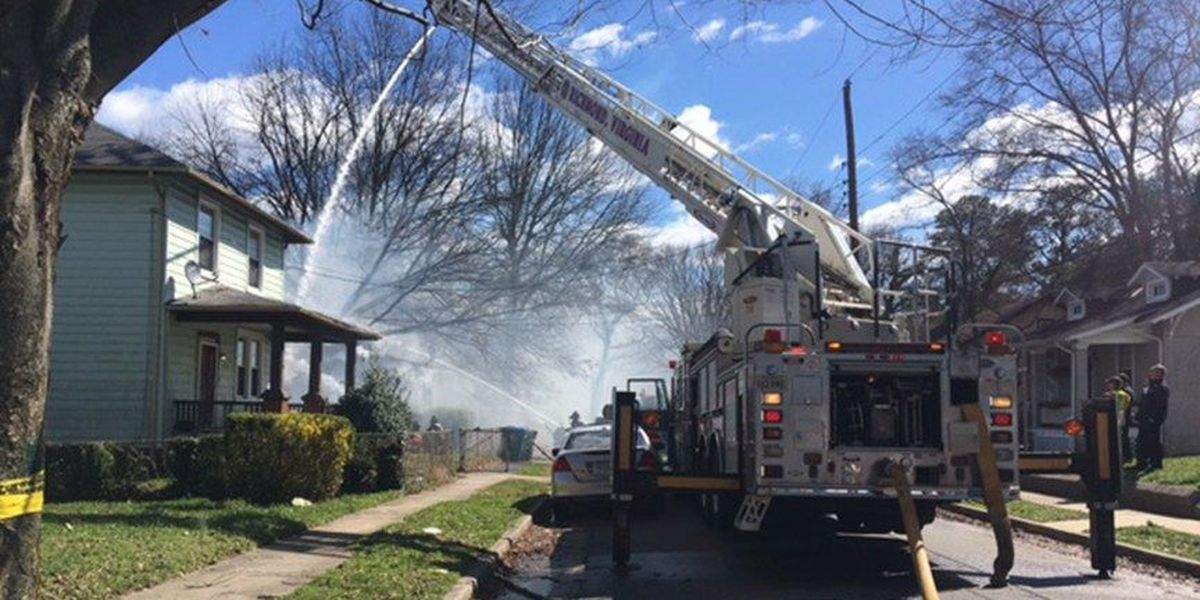High winds blamed for sparking house fire in Richmond