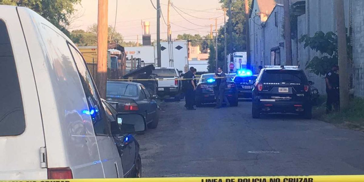 Man fighting for life after Richmond shooting; person of interest detained