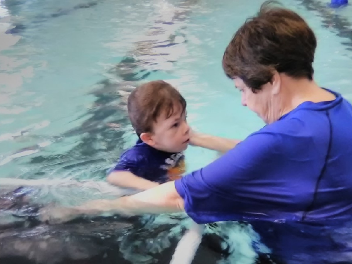 SwimRVA gives little boy a heartwarming surprise