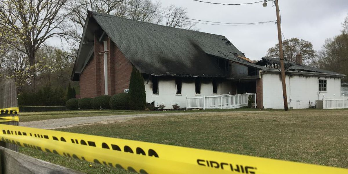 Juvenile detained in Hopewell church arson