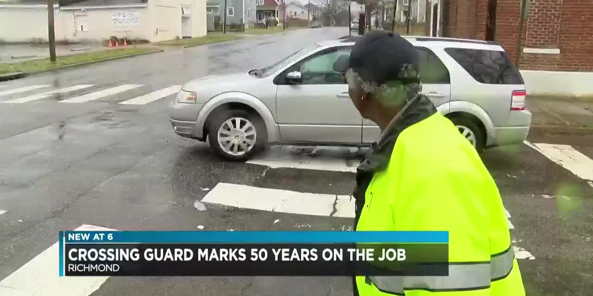 Crossing guard marks 50 years on the job