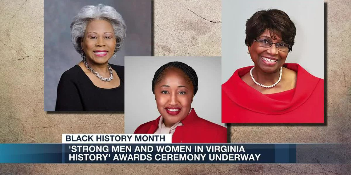 'Strong Men and Women in Virginia History' awards ceremony
