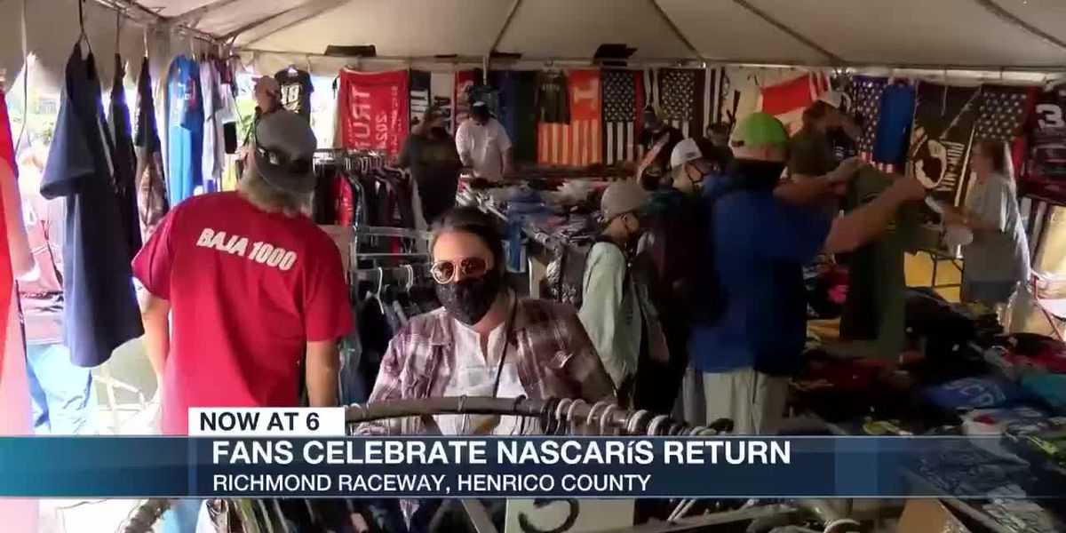 NASCAR fans return to Richmond Raceway