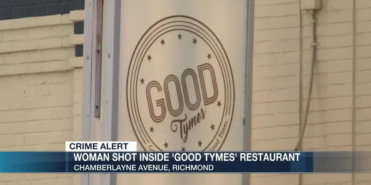 Woman shot inside 'Good Tymes' restaurant