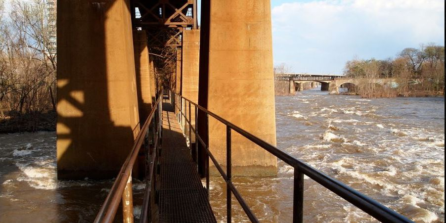 MAN, WOMAN RESCUED FROM JAMES RIVER