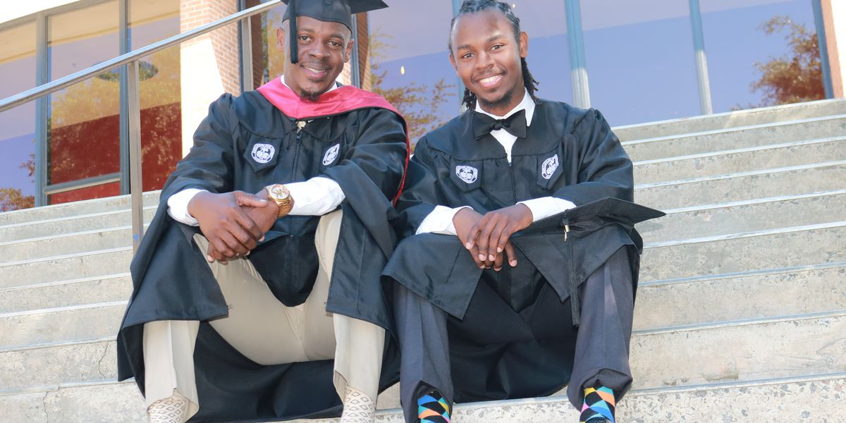 Father, son to receive college degrees together at South Carolina State University