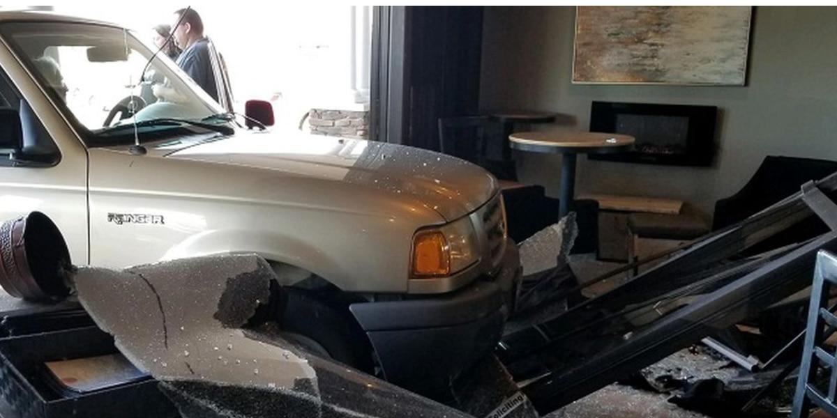 No one hurt when driver hits Virginia restaurant