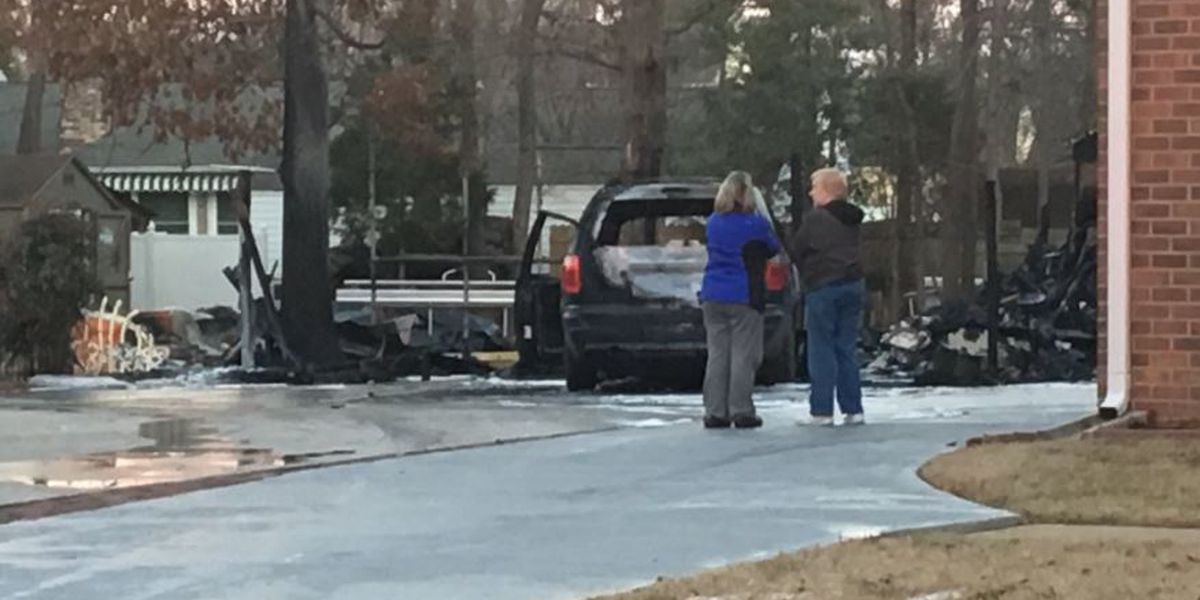 Barking dog alerts family to fire at their home