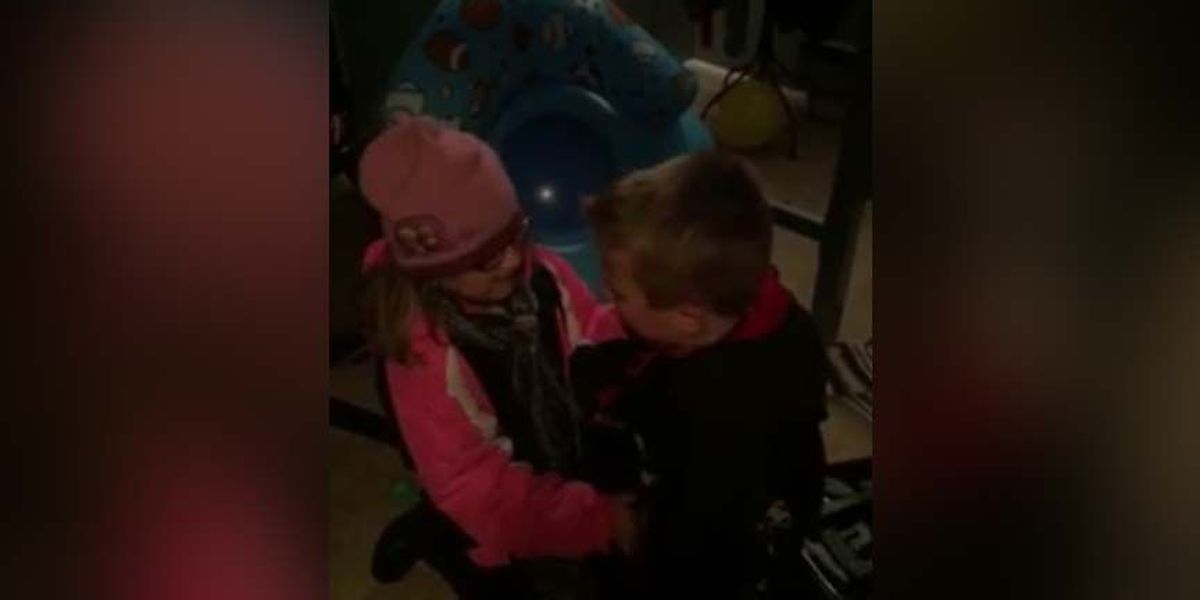WATCH: Little girl surprises her brother with hamster