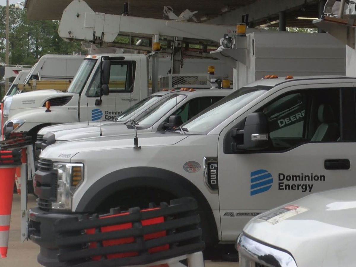 Dominion Energy prepares for Isaias