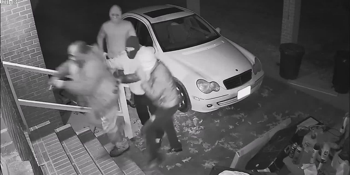 Brunswick County Sheriff's Office released this video of moments leading up to a homicide