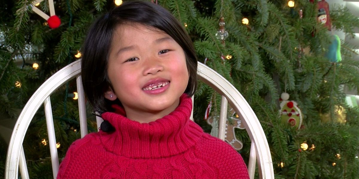 7-year-old asks people to donate blood this holiday season