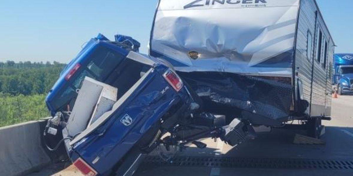 State police investigating crash on Varina Enon Bridge