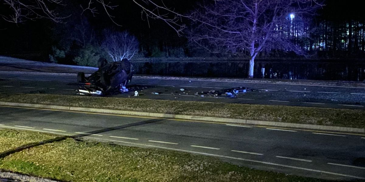 Henrico woman killed in single-vehicle crash in Chesterfield