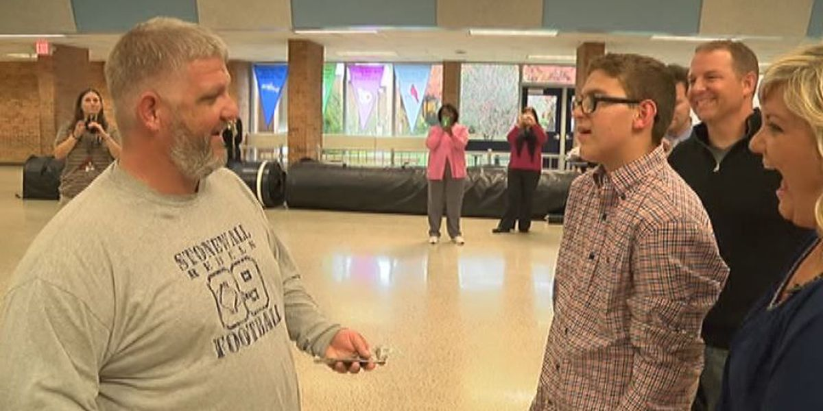 Acts of Kindness: Hanover coach