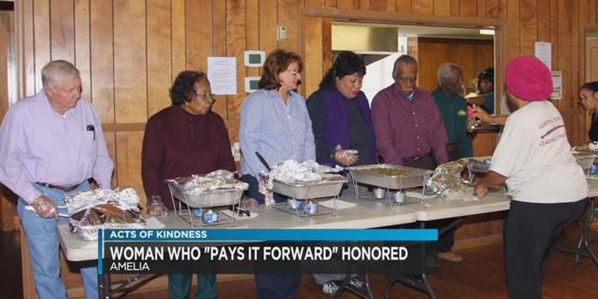 Acts of Kindness: Citizen of the year feeds masses