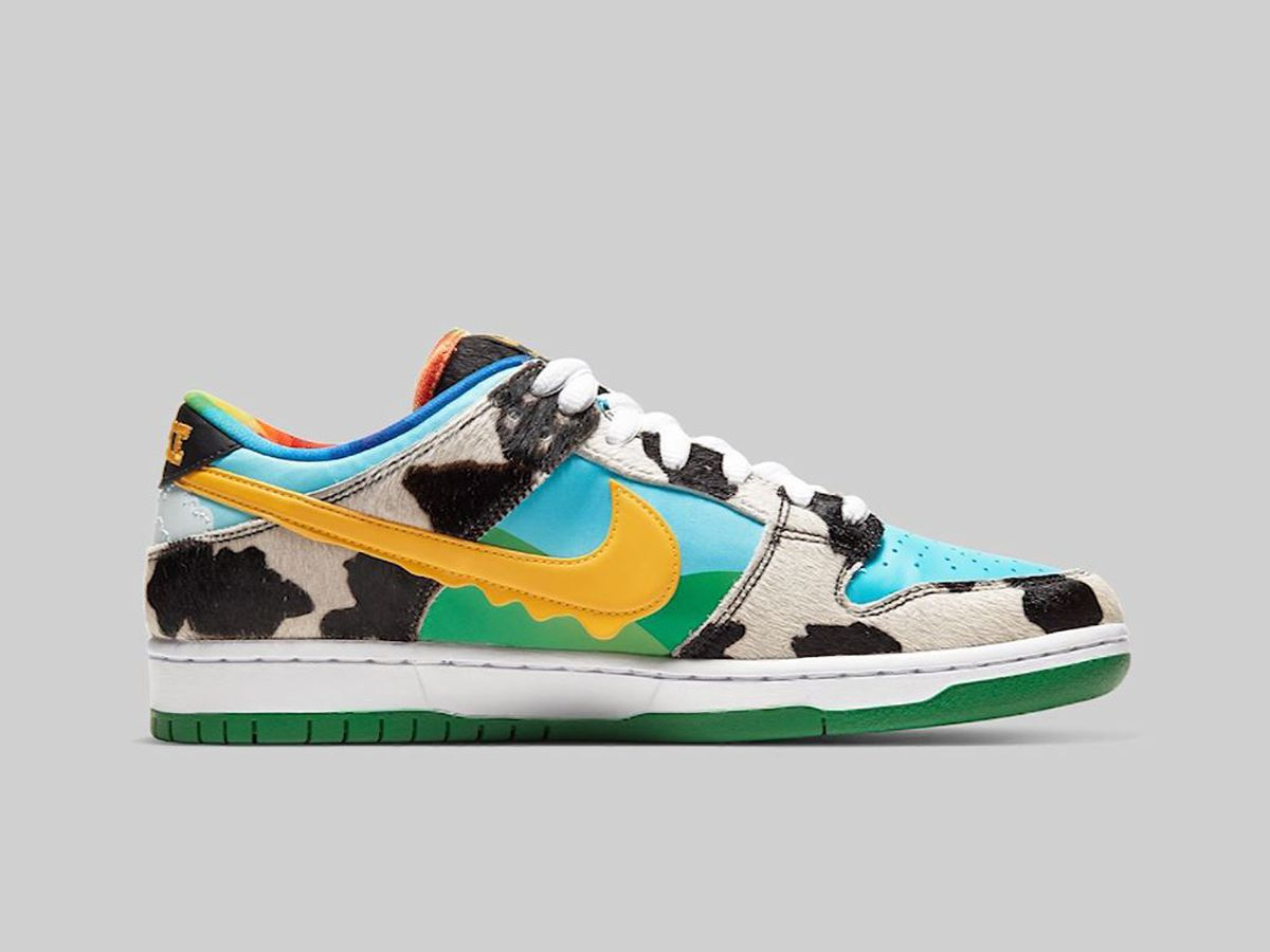 Nike releases Ben & Jerry's-themed sneakers