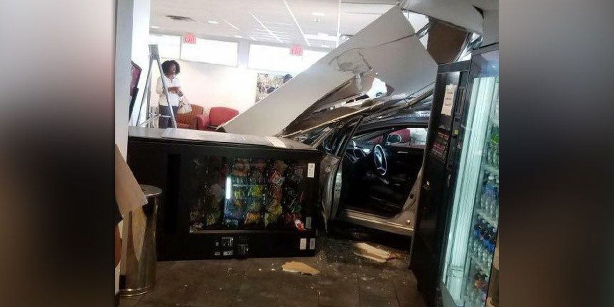 Driver charged after crashing into Priority Toyota in Chesterfield