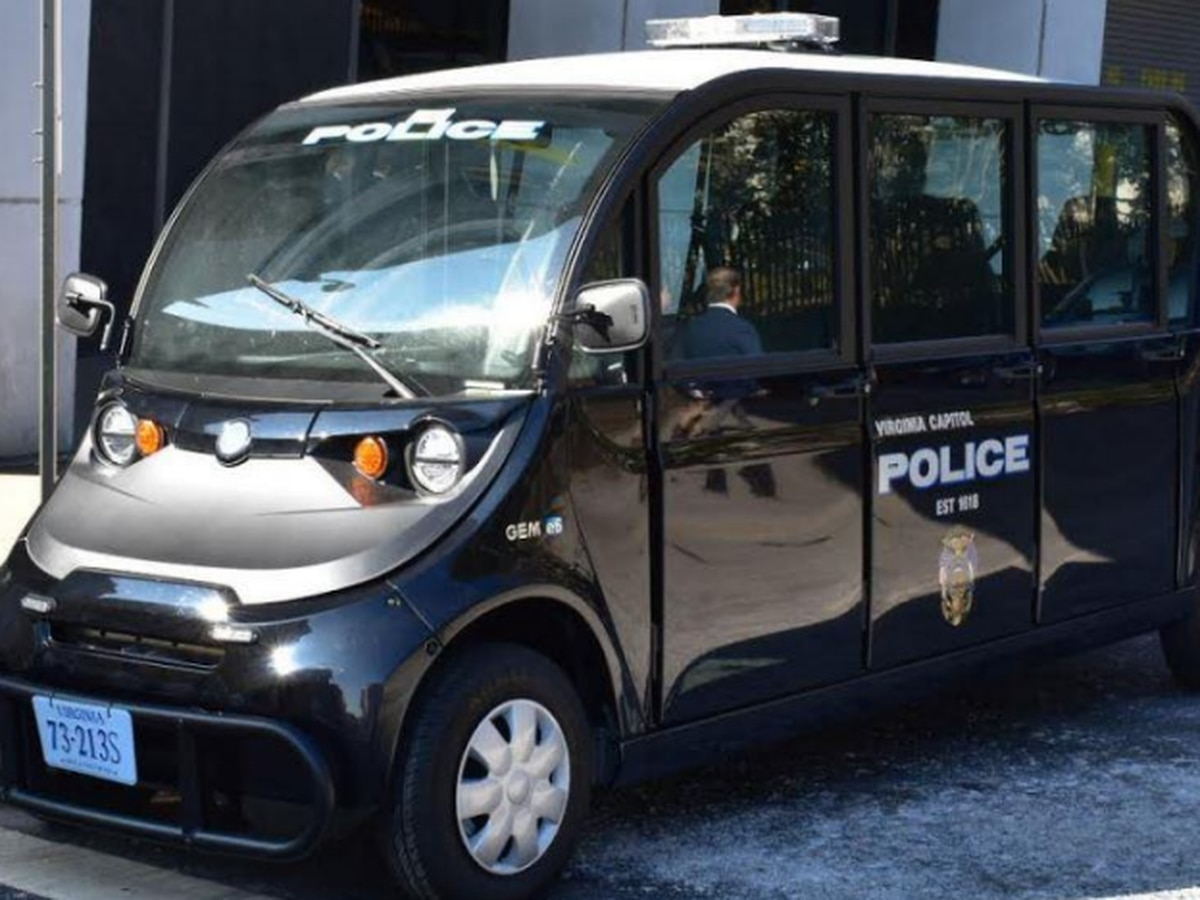 Capitol Police add 6-seat electric vehicle to fleet