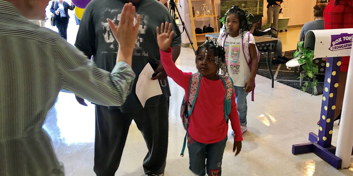 'She was ready to go': Kids across RVA head back-to-school