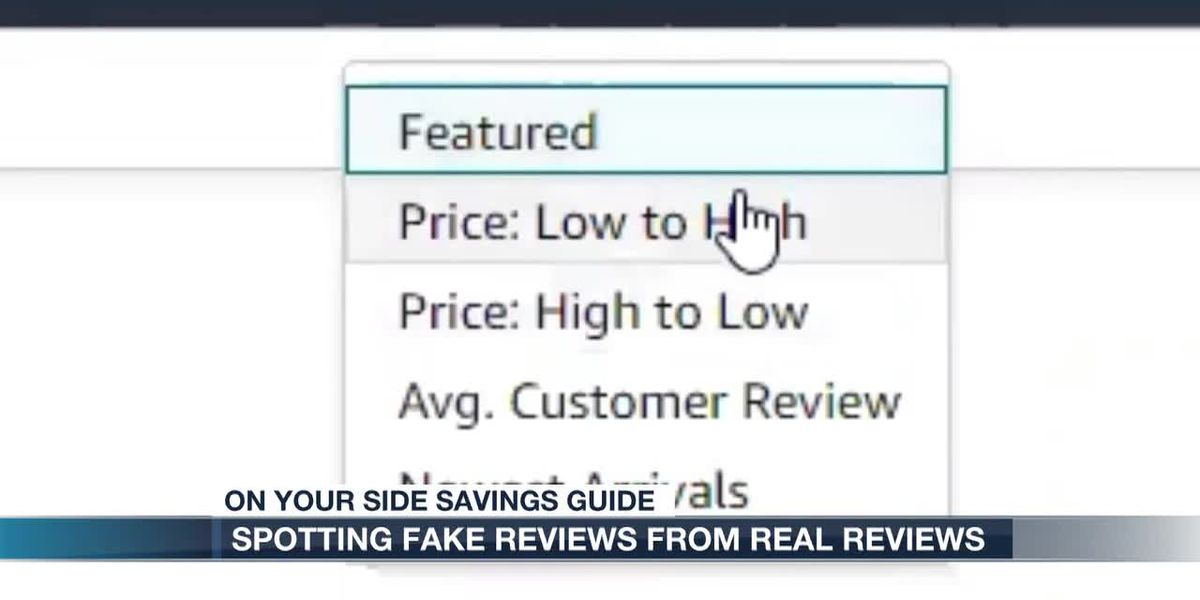 Remember to look at reviews when ordering online