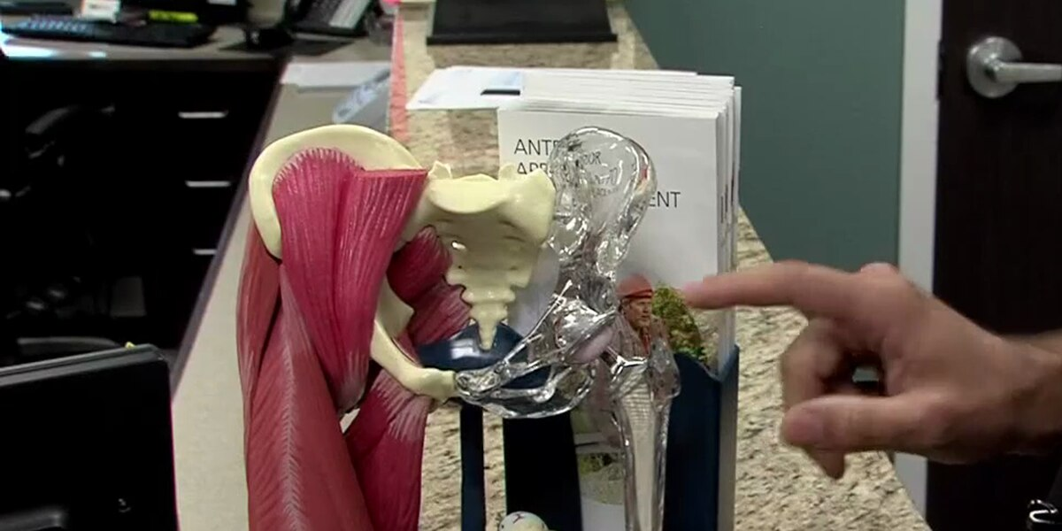 What's involved in a direct anterior total hip replacement?