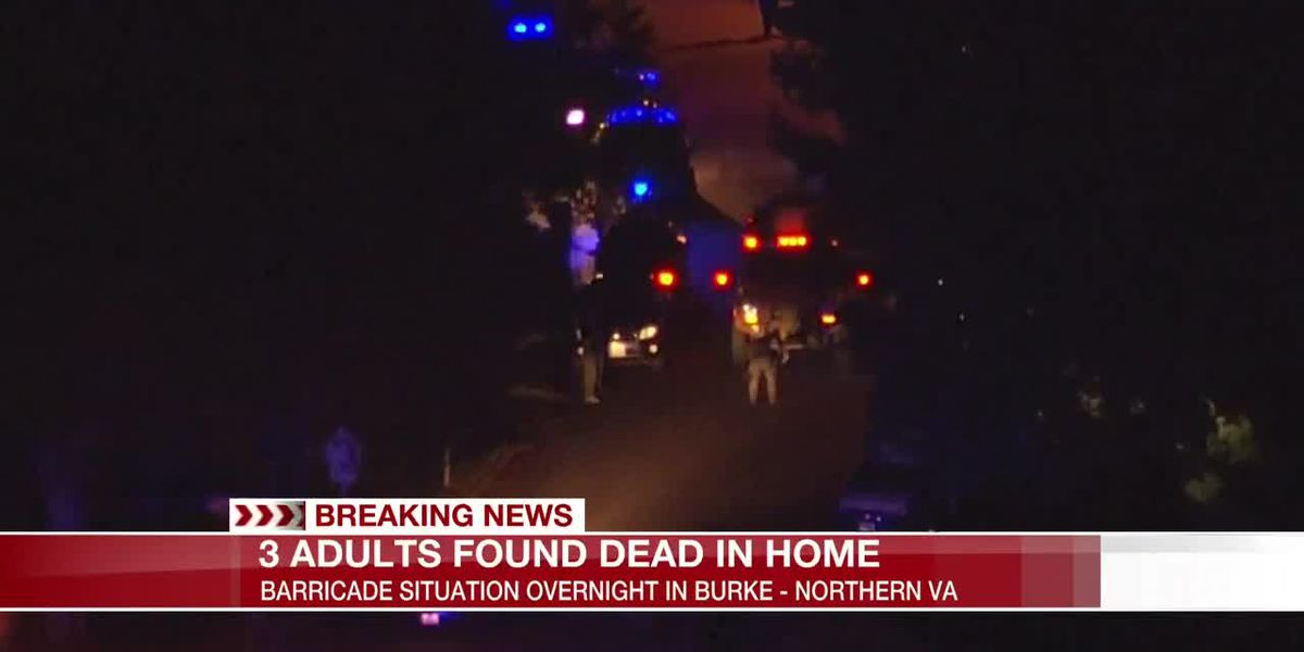 3 people dead after barricade situation in Northern Va.