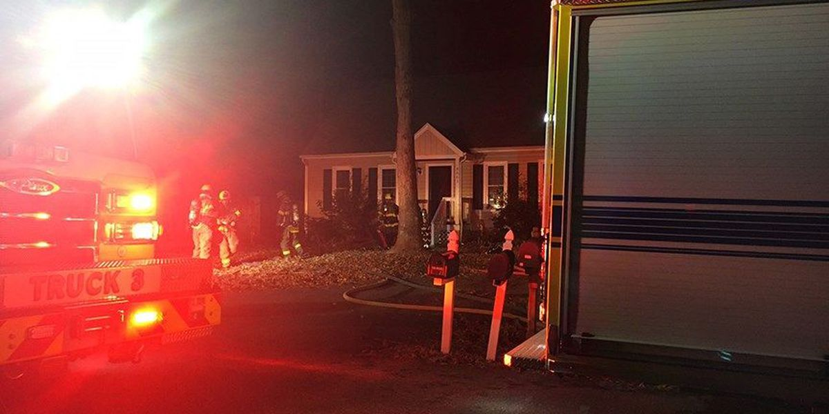 No serious injuries reported in Chester house fire