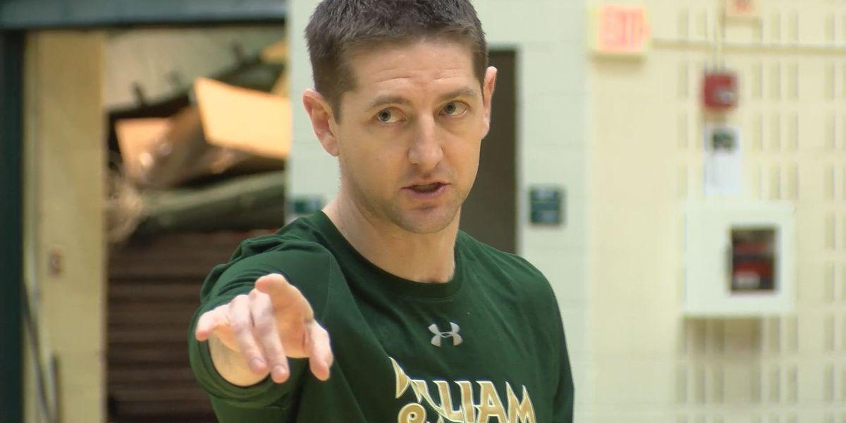 Positive coronavirus test pauses William & Mary men's basketball