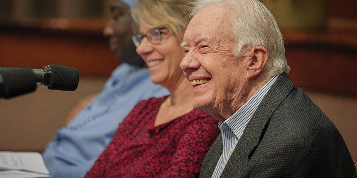 Former President Carter to speak at Liberty University's graduation