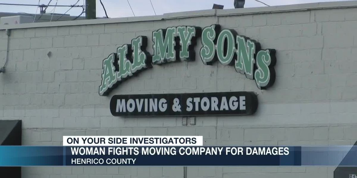 Woman fights moving company for damages