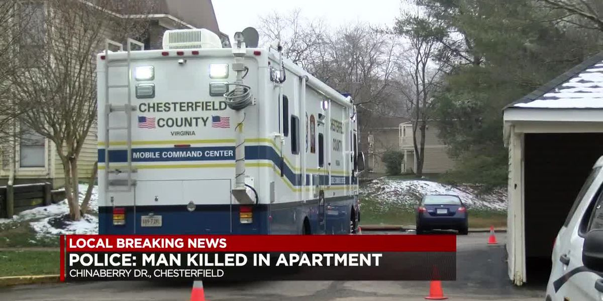 Police investigate homicide after Chesterfield man found dead in apartment