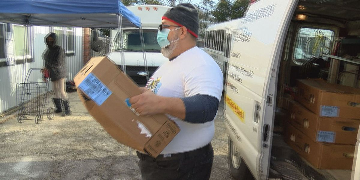 Community organizations spread holiday joy with donations to food pantry