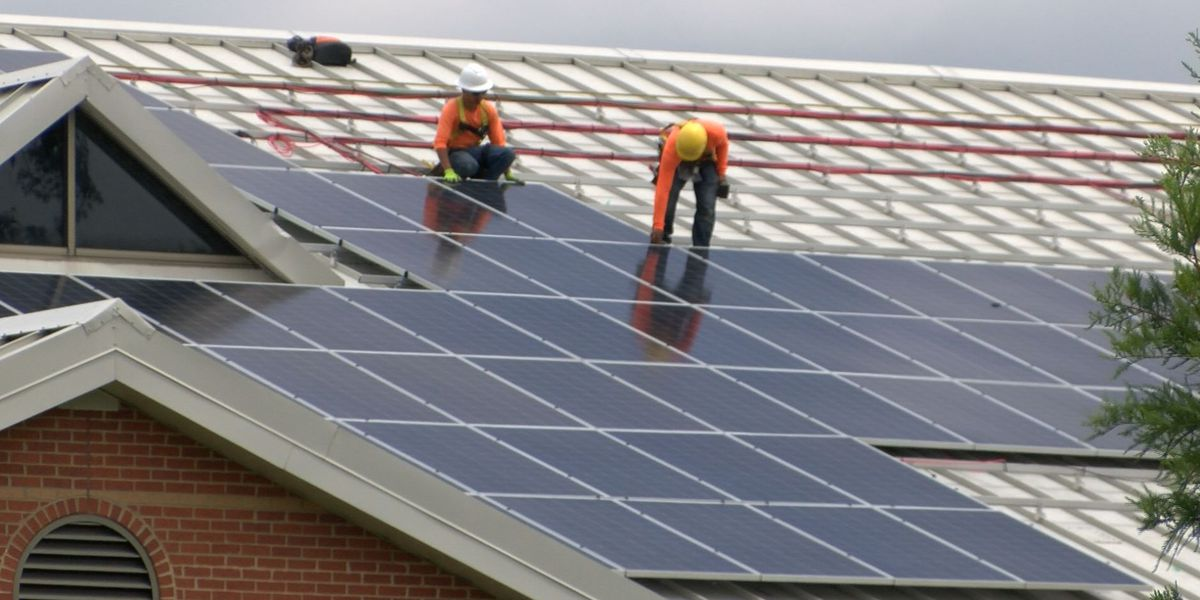 Solar panel project at 10 Richmond schools near completion