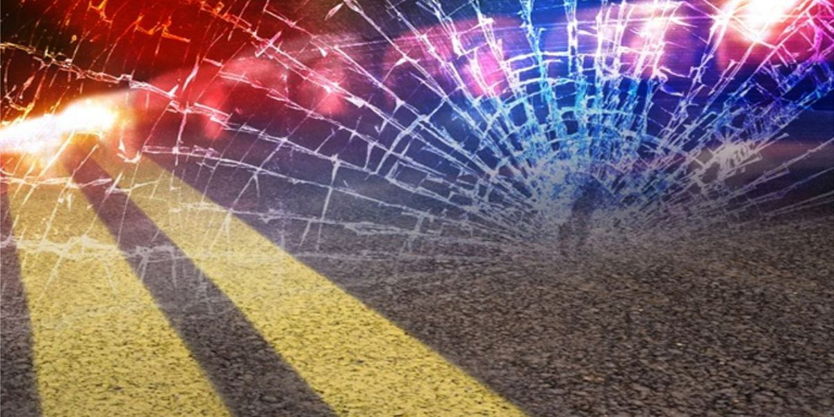 95-year-old man killed in 2-vehicle crash