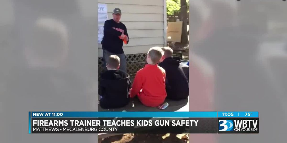 Charlotte-area class teaches kids as young as six how to use guns