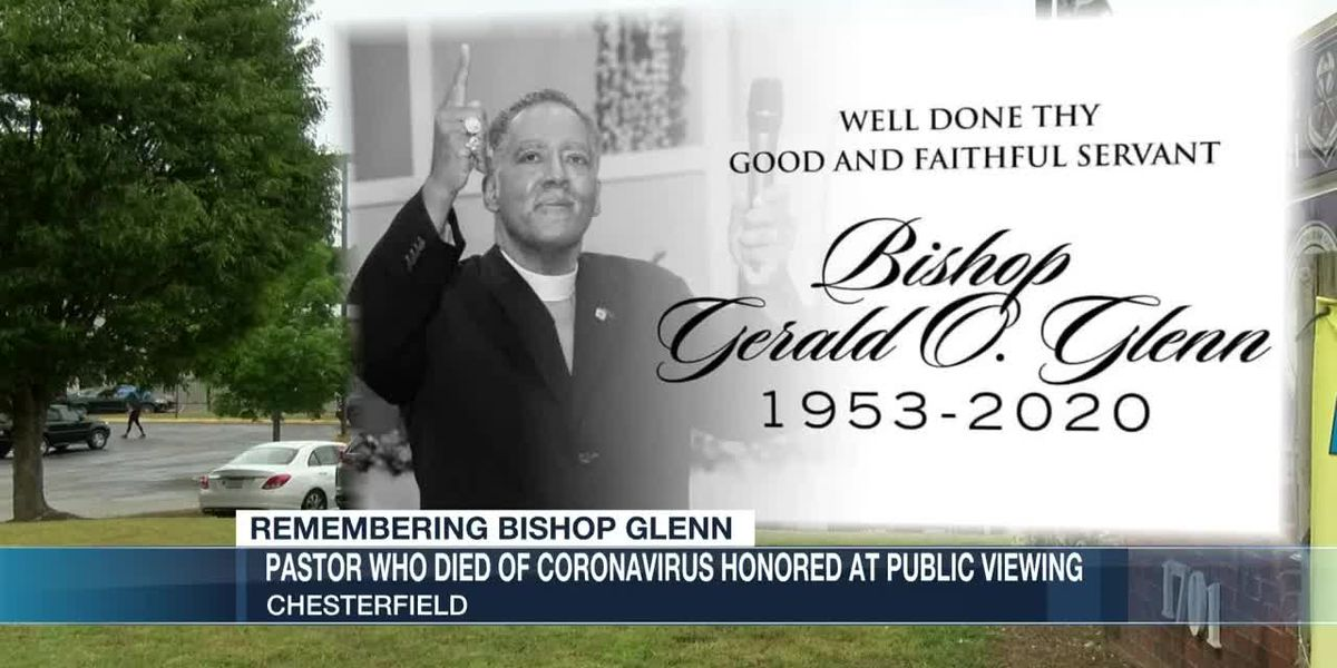 Pastor who died of coronavirus honored at public viewing