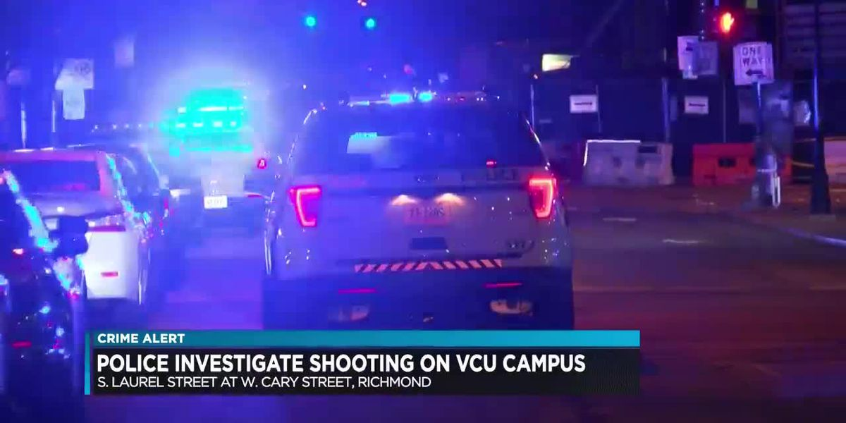 Police investigate shooting on VCU campus