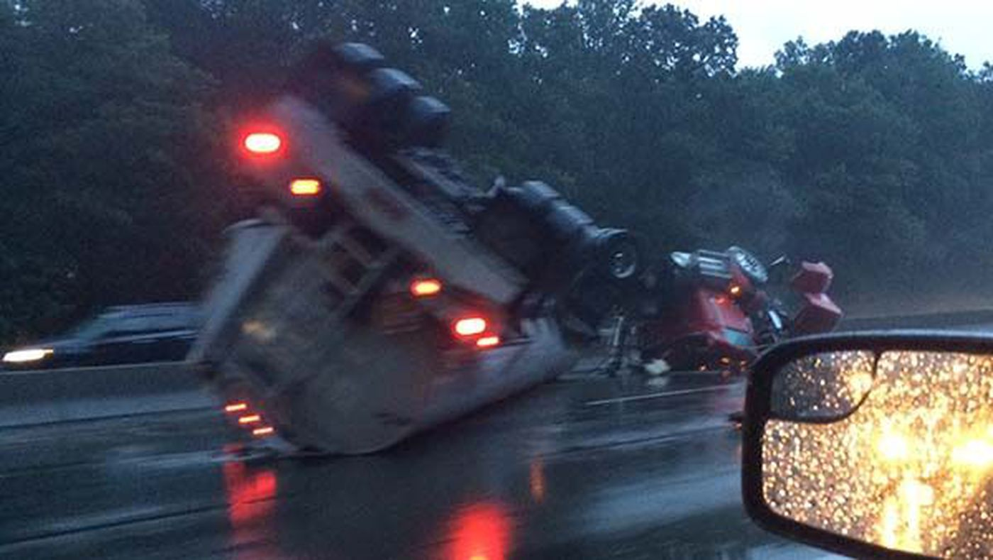 I-95 cleanup complete following Chesterfield tanker truck fuel spill